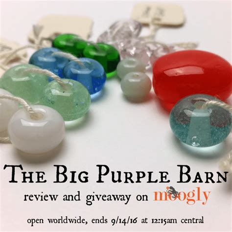 The Big Giveaway - the big purple barn s gorgeous handsculpted beads giveaway moogly