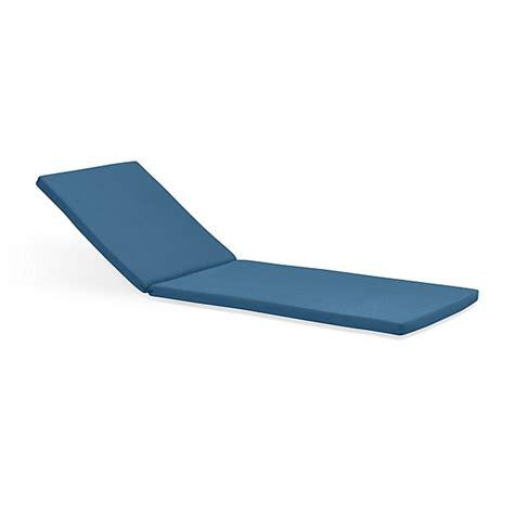 sunbrella chaise cushions clearance rocha sunbrella 174 chaise lounge cushion crate and barrel