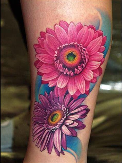gerbera daisy tattoo best 25 gerbera ideas only on