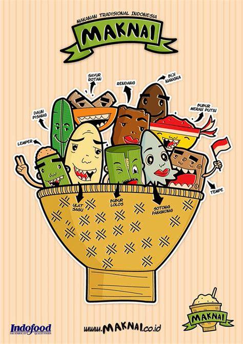 maknai makanan tradisional indonesia campaign  behance