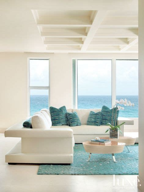 beach house furniture and interiors light filled oceanside condo with sea inspired hues luxesource luxe magazine the luxury