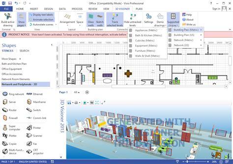 visio building stencils 3d visioner 2014 2 95 00 0001