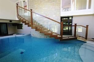 Bottom Up Window Treatments - modern indoor pool modern pool chicago by rosebrook pools inc