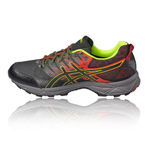 asics gel sonoma 3 mens black waterproof tex running sports shoes ebay
