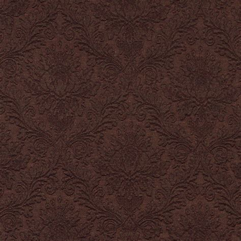 Upholstery Grade Fabric by Brown Floral Woven Matelasse Upholstery Grade