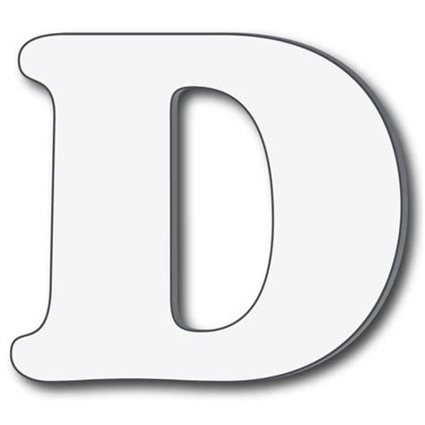 d it letter d dr