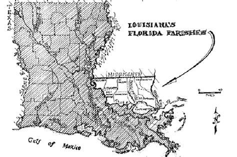 map louisiana and florida florida parishes