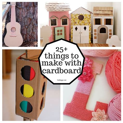 25 Things To Make With Cardboard