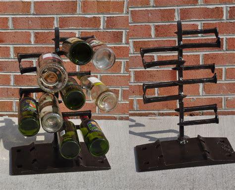 Scrap Metal Countertops by Heavy Metal Counter Top Wine Rack 10