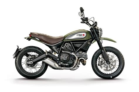 Classic Enduro Motorräder by Ducati Scrambler Neues Einstiegsmodell