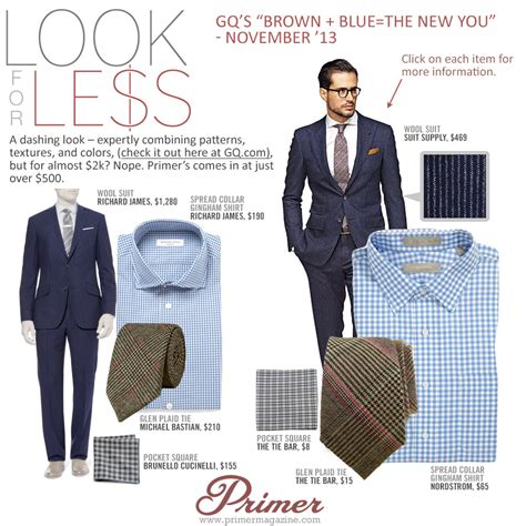 Which Bilson For Gq Magazine Look Do You Like Best by Look For Less Gq S Brown Blue The New You