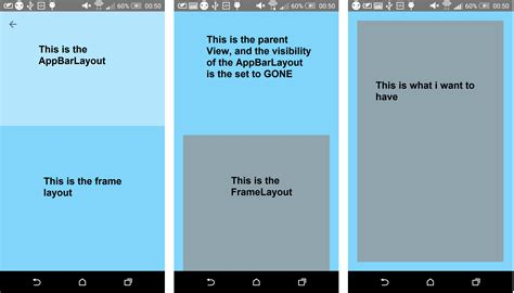 android layout include visibility android problemn when setting visibility in
