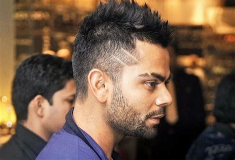 new hairstyle of virat kohli virat kohli new hairstyle 2015 hd pics