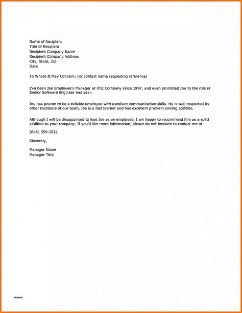Reference Letter Sle Housekeeper letter of recommendation new letter of recommendation for housekeeper letter of recommendation