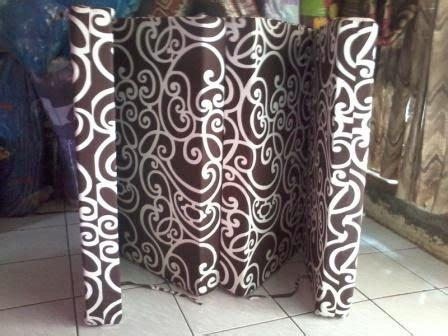 Cover Kasur Lipat 4 200x145x10 Cm kasur busa inoac kasur busa lipat empat tinggi 10cm