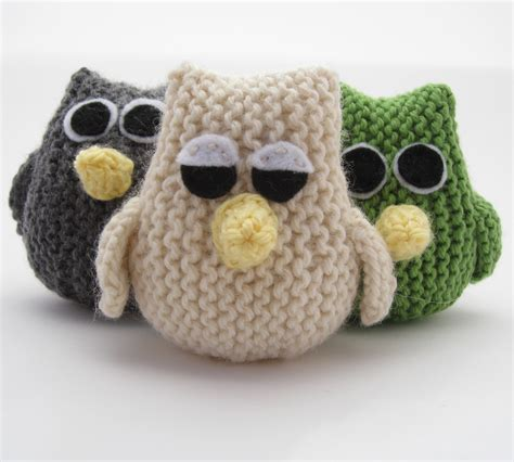 knitted owl pattern owl pattern hints and tips