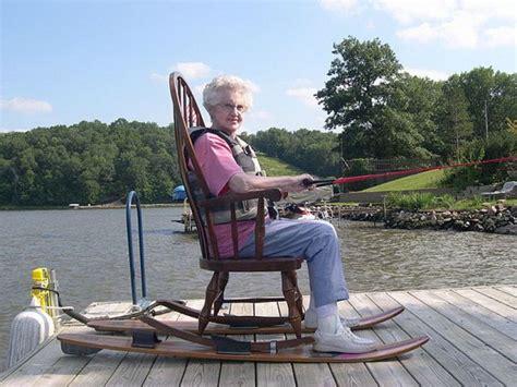 Backyard Coaster Water Sports Fun Granny S Custom Made Water Skis With