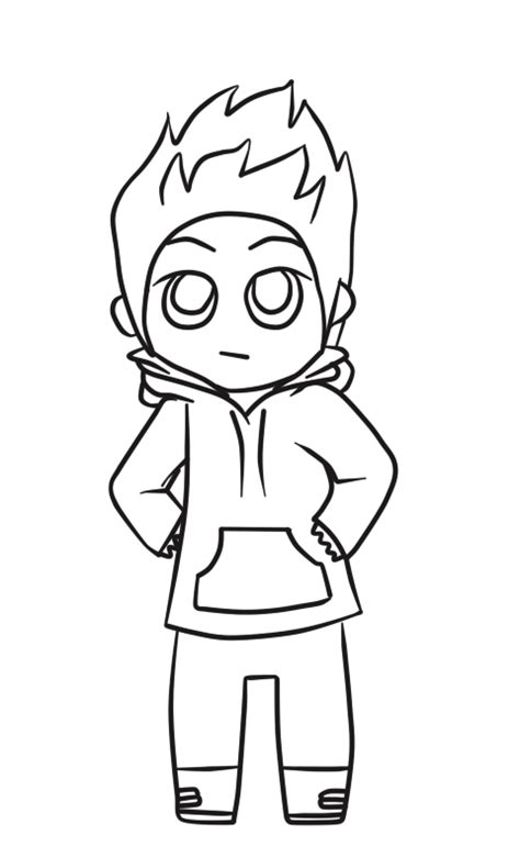 chibi boy coloring pages boy line art www pixshark com images galleries with a