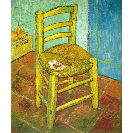 silla de van gogh silla con pipa de van gogh artefamoso copias de