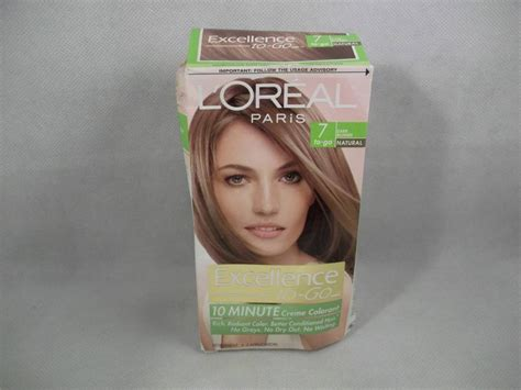 10 minute hair color 1 loreal excellence to go 10 minute creme colorant