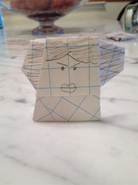 Princess Leia Origami - easy princess leia origami yoda