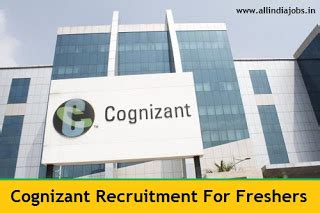Cognizant Recruitment For Mba Freshers by Cognizant Recruitment 2018 2019 Openings For Freshers