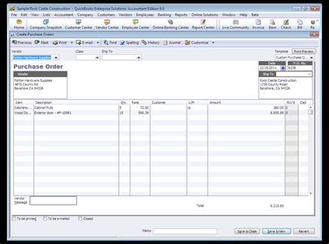 quickbooks tutorial purchase orders paying from a purchase order in quickbooks quickbooks