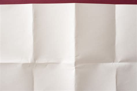 Folded Sheet Of Paper - unfolded paper 8620 stockarch free stock photos