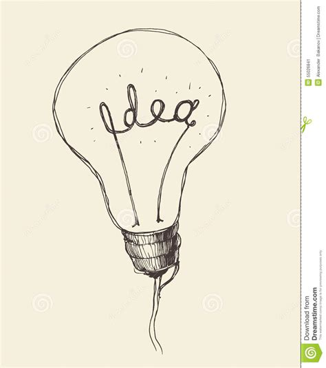 doodle god how to create light bulb concept creative light bulb icon doodle stock