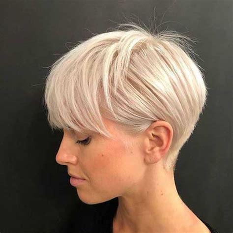 modern short blonde hairstyles  ladies short haircutcom