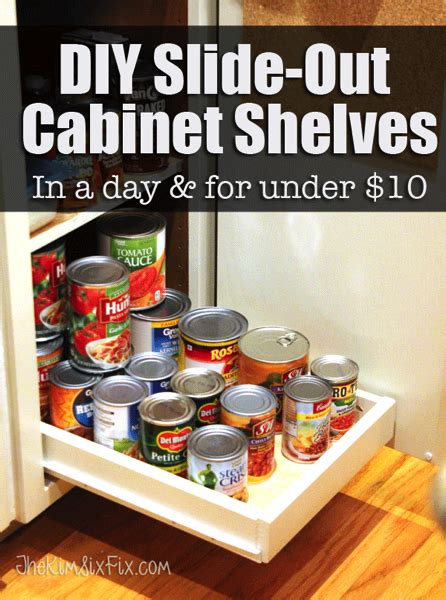 Link 10 Things For A Ready Pantry by Diy Slide Out Cabinet Shelves Png