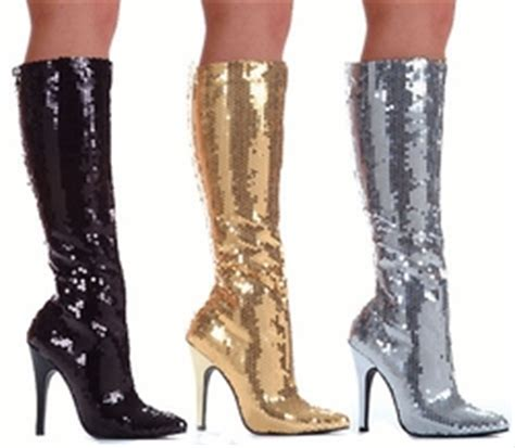 gogo boots and knee high boots