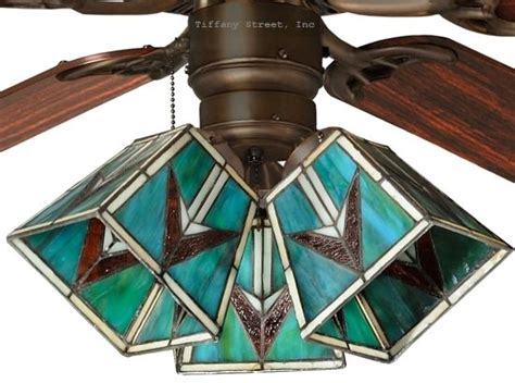 stained glass ceiling fan light shades 41 best images about stained glass ceiling fan on