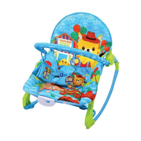 Bouncer Bayi Sugar Baby My Rocker 3 Stages Tea Time jual sugar baby bouncer my rocker stage 3 farm