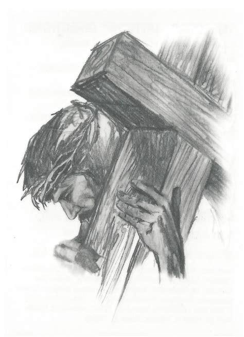 imagenes religiosas hechas a lapiz jesus carrying the cross temporary tattoo religiosas