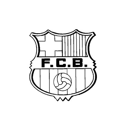 Coloriage Maillot Foot Barcelone