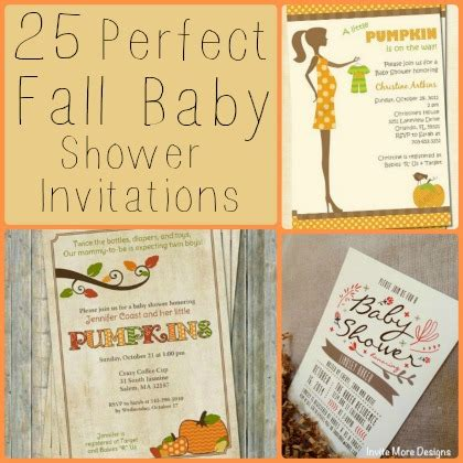 25 Perfect Fall Baby Shower Invitations Babble Fall Baby Shower Invitation Templates