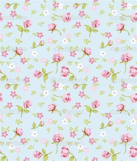 Vintage Flowers Pattern vintage flower seamless pattern background stock vector
