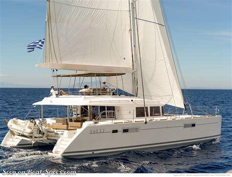 catamaran sailboat dimensions lagoon 560 s2 sailboat specifications and details on boat