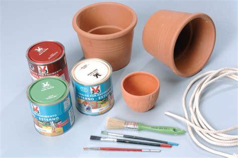 decorazioni per vasi vasi decorati bricoportale fai da te e bricolage