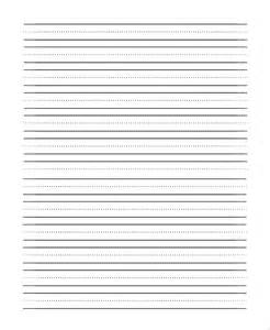 handwriting paper template lined paper pdf sle 9 exles in pdf