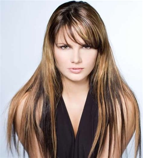 diferent hair highlights for different kinds of highlights for female hair pinterest