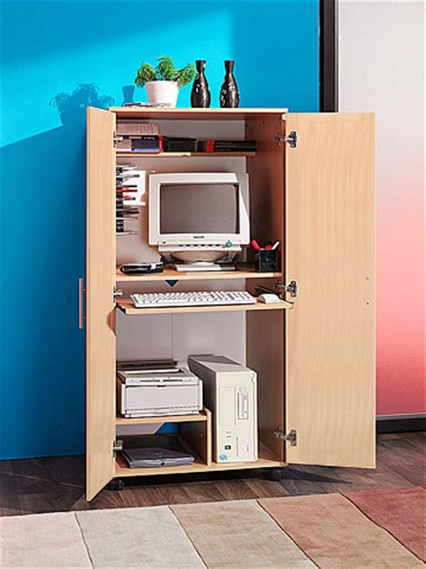home office hideaway computer desk m0240