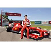 Kamui Kobayashi Tests Ferrari F1 Car But Don't Get Too