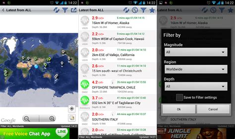 earthquake app how to get earthquake alerts news details on your