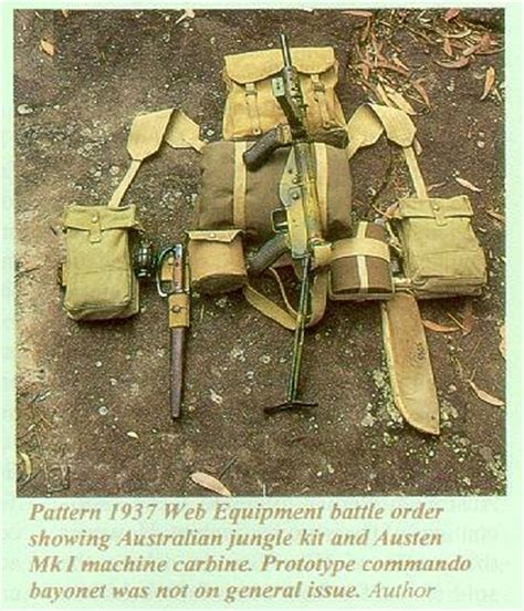 1958 pattern web equipment australian load carrying equipment 1945 1988 by rick landers