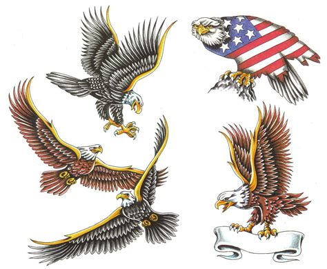 eagle back tattoo designs eagle images designs