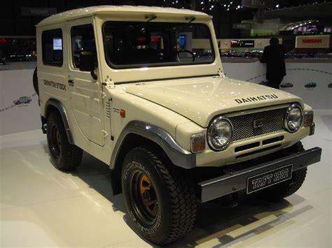 daihatsu jeep daihatsu showed a 1982 taft taft pinterest daihatsu