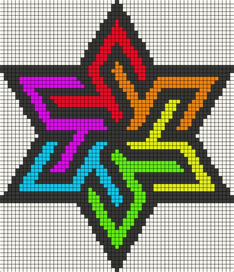 how to make perler bead patterns rainbow stained glass perler bead pattern lola