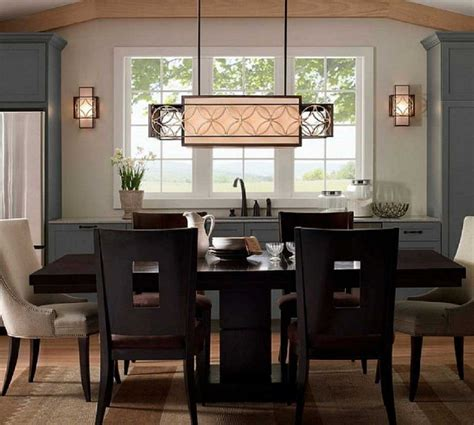 rectangular hanging l dining room lighting fixtures